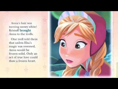 DISNEY'S FROZEN Story Book Read Along! Great Children's Bedtime Story