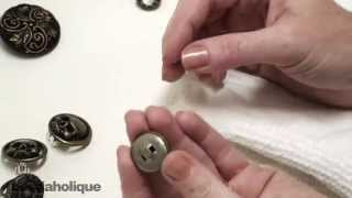 How to Remove a Button Shank