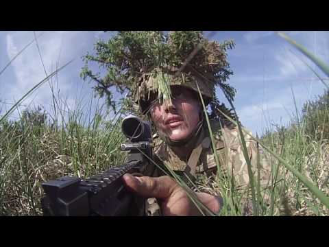 221 Troop Training Video - Royal Marines Training CTCRM
