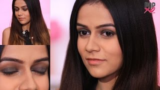new year s eve makeup tutorial   smokey eye tutorial for beginner   party eye makeup popxo