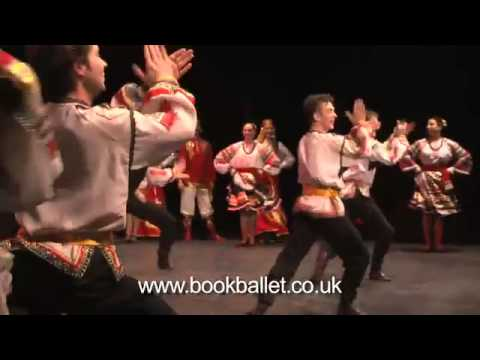 Russian Cossacks by Russian State Dance Ensemble of Astrahan