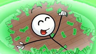 Henry Stickmin is RICH! (Completing the Mission Ending)