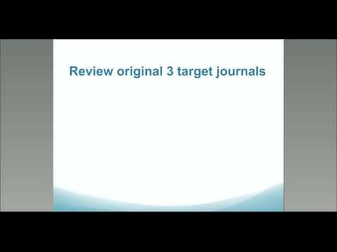Publishing MMR Webinar - Dr. Michael Fetters