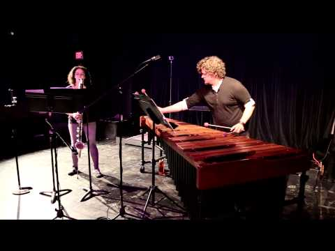 """Fabrication 10: Itch"" by Andy Vores for bass clarinet and marimba"