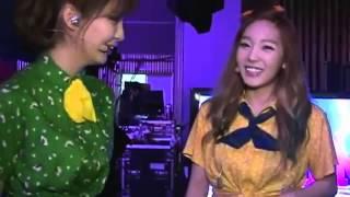 Taeyeon wowed! at Seohyun thumbnail