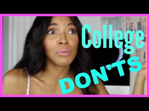 WHAT NOT TO DO IN COLLEGE EVER!!!! - BOY ADVICE- Brittany Daniel - 동영상