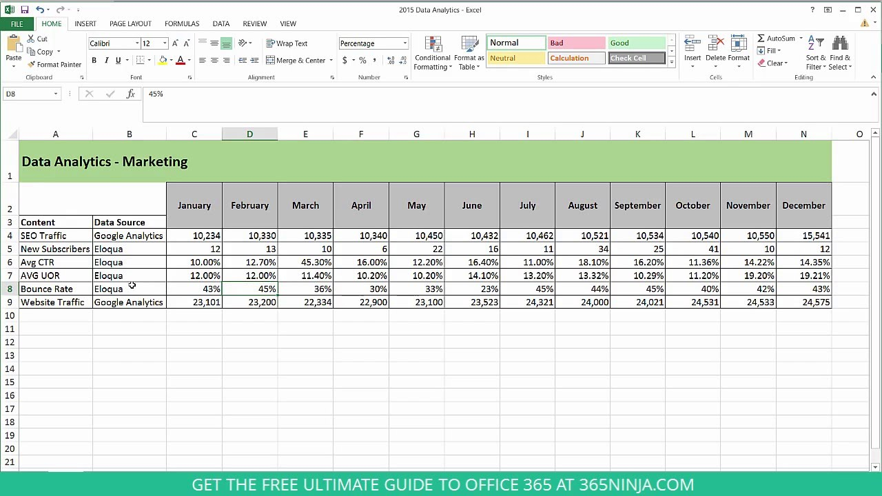 6 Ways to Make Your Excel Spreadsheet Easier to Read