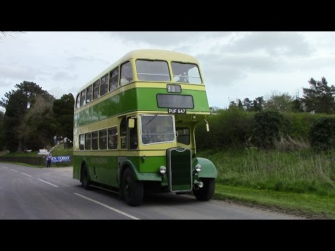 Winchester FoKAB Buses 2016 Guy Arab IV PUF 647 St Catherines to Broadway via Twyford Waterworks 93