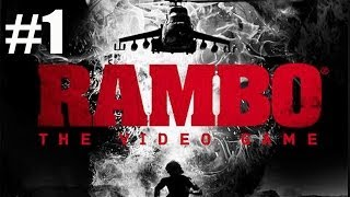 Chapter 1 Prologue - Rambo The Video Game Walkthrough Part 1 No Commentary