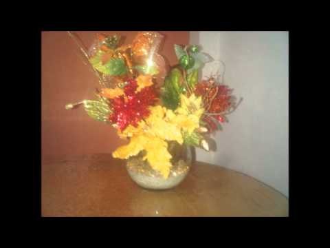 Venta de arreglos florales y orquideas artificiales youtube for Orquideas artificiales