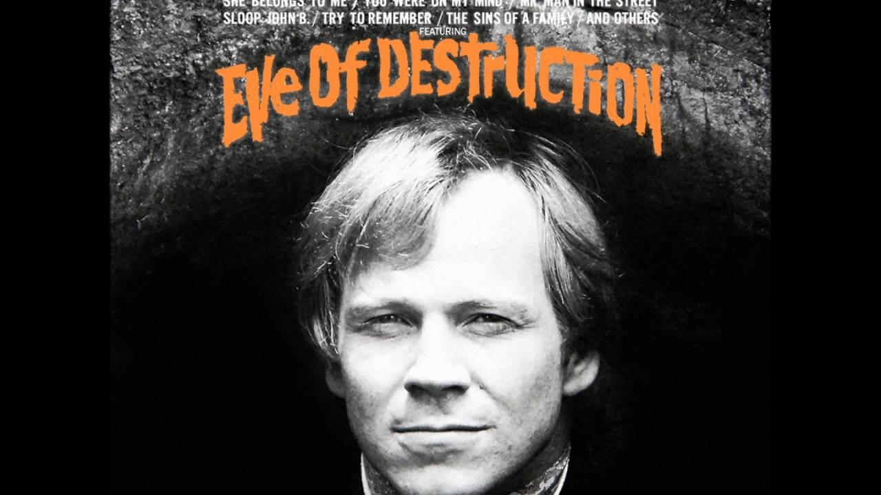 「Eve Of Destruction」の画像検索結果
