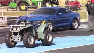 2019 Velocity Blue S550 Mustang GT Paxton Supercharger Stock Motor - Best 9.8 at 142.7 MPH