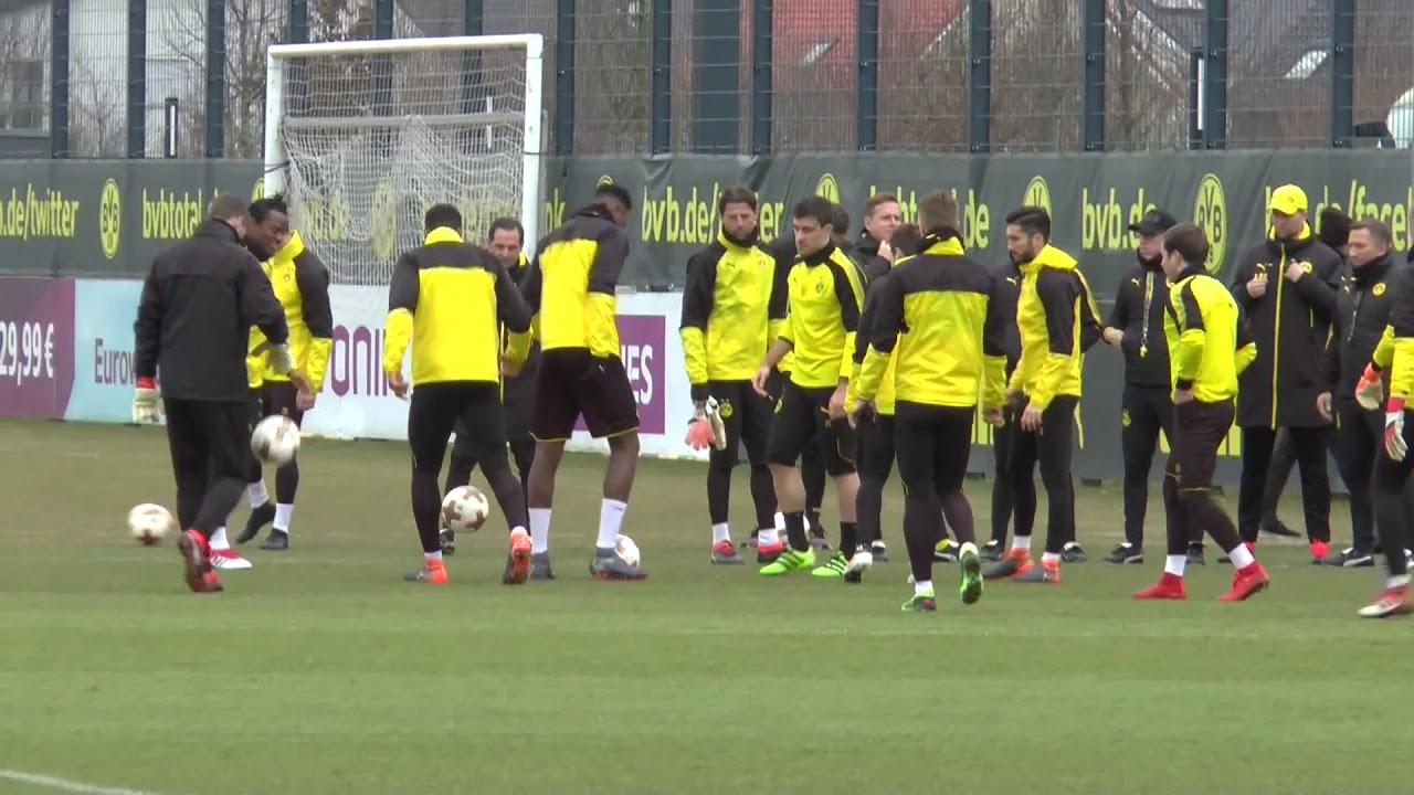 BVB-Abschlusstraining vor dem Heimspiel gegen den FC Salzburg