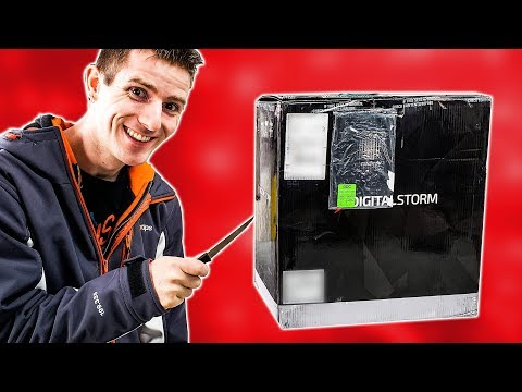 Unboxing a SURPRISE Gaming PC from Digital Storm