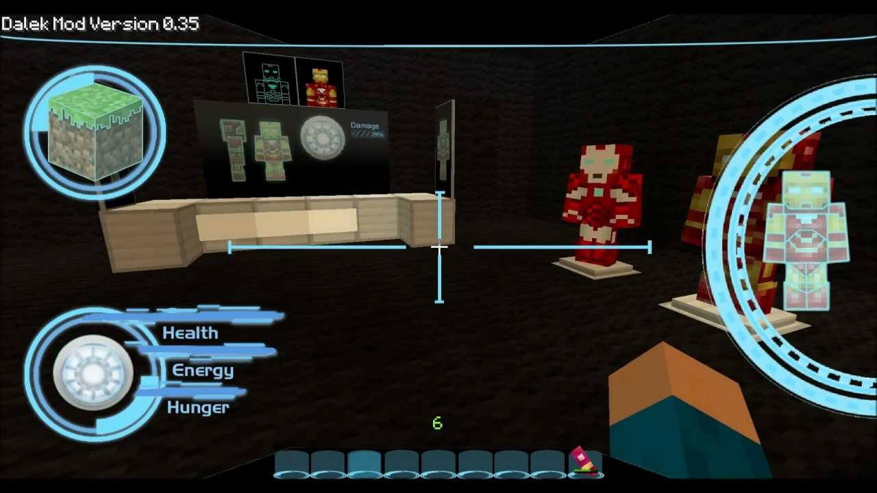 how to make iron man suit in minecraft no mods
