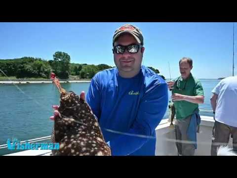 Orient Point Bucktail Fishing For Fluke