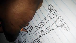 How to draw nba young boy pt1