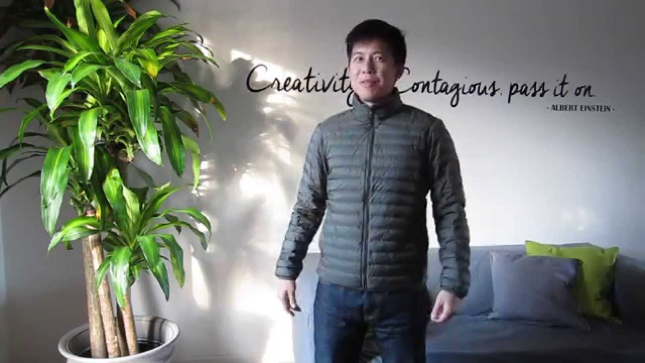 e3cffa75a Uniqlo Ultra Light Down Jacket - Owner Review   Sizing - YouTube