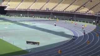 2014IH陸上北九州地区予選 女子4×400mリレー決勝