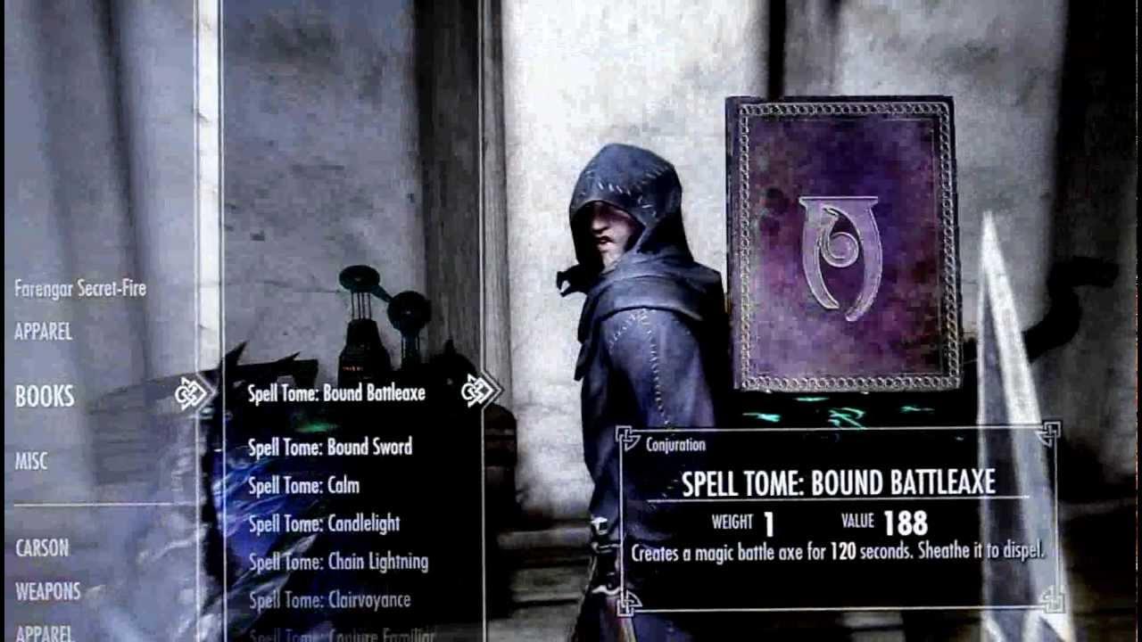Console Commands (Skyrim)/Spells | Elder Scrolls | FANDOM ...