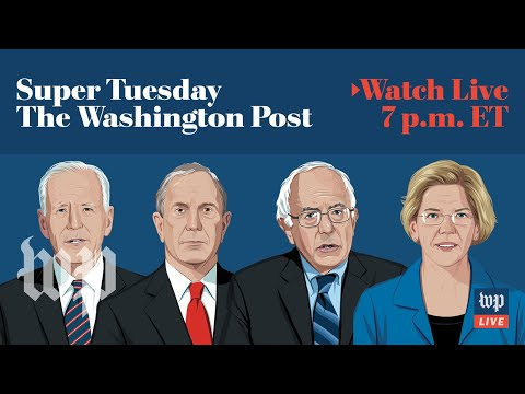Super Tuesday 2020 updates and results (FULL LIVE STREAM)