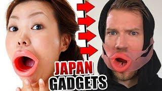 WIR TESTEN: SKURRILE JAPAN SPIELZEUGE! - Gadget Fun!