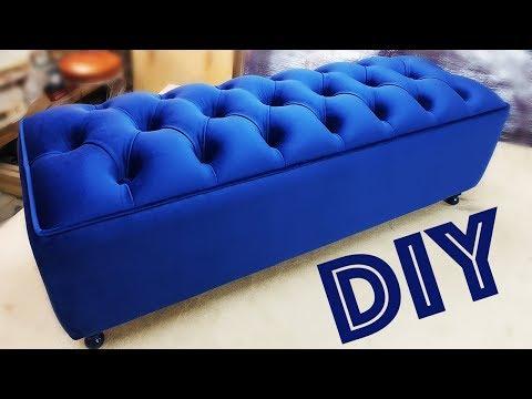 видео: БАНКЕТКА мебель СВОИМИ рукамиdiy banquet furniture with your hands