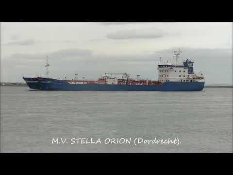 Shipspotting in Dublin - Mar. '18.
