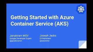 Download Kubernetes-Getting Started with Azure Container Service AKS