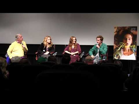 Flower  Max Winkler & Zoey Deutch Q&A Moderated by Henry Winkler and Lea Thompson