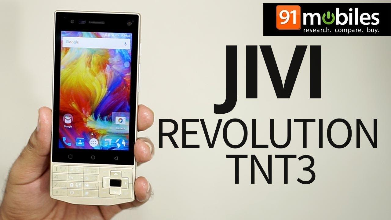 Jivi Revolution TnT3: Unboxing   Hands on   Price [Hindi-हिन्दी]