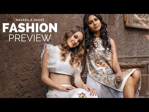 Fashion Preview | Indian Fashion Designer | Hasrat - e - Sassy | Anjali Khasariya | Helen | 2019