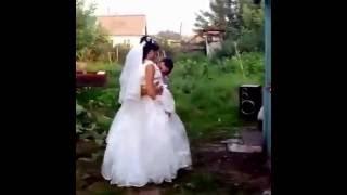 Обычная свадьба в России