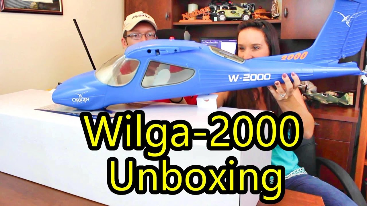 New Origin Hobby Plane - Wilga 2000 - Check out the Details!! - TheRcSaylors