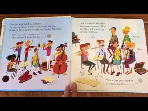 Usborne Musical Books: First Book about the Orchestra