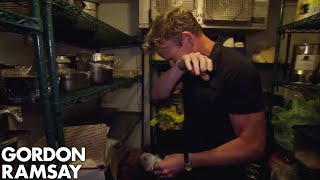 Gordon Furious at Hotel's Moldy Fridge | Hotel Hell