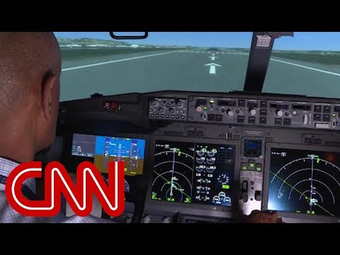 CNN's exclusive look inside a Boeing 737 Max simulator