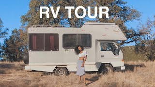 JAPANESE RV TOUR (before remodel) Video