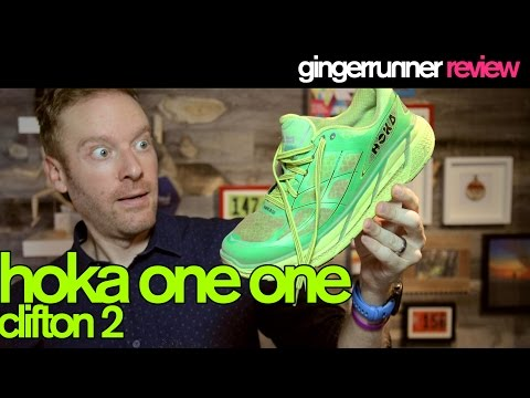 HOKA ONE ONE CLIFTON 2 REVIEW | The Ginger Runner