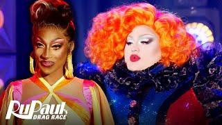 Eureka & Jaida Essence Hall's Little Richard Lip Sync 🌈  RuPaul's Drag Race All Stars