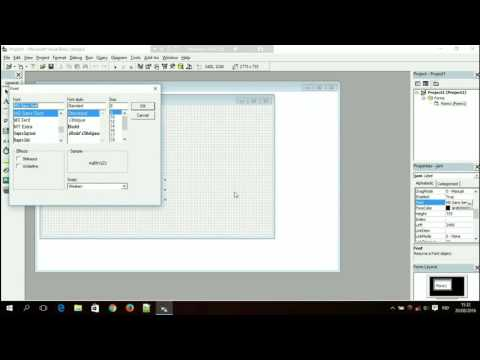 Cara Membuat Tanggal Di Visual Basic
