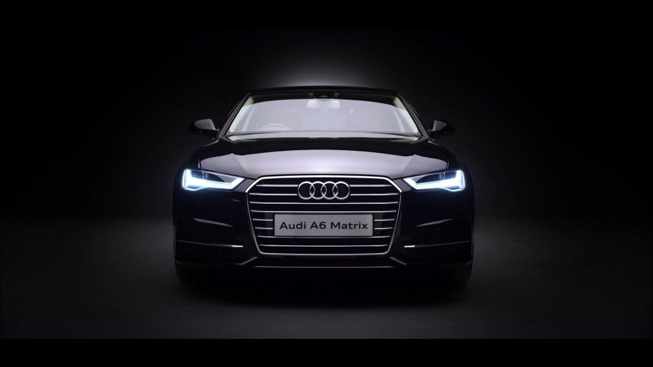 Audi a6 logo lights led