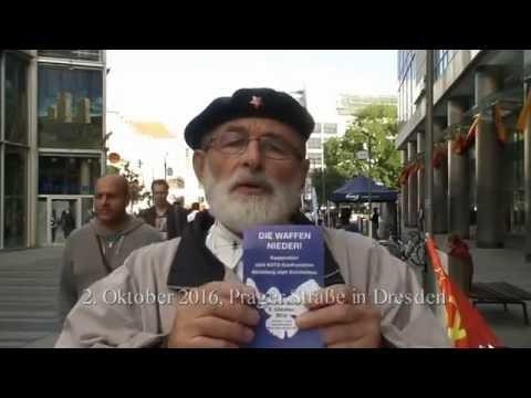 """Der 1., 2. und 3. Oktober auf der Prager Straße in Dresden - """"Einheitsfeier"""""""