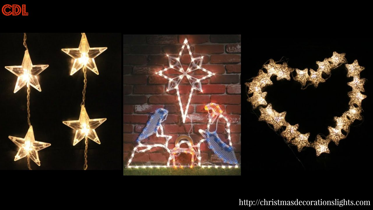 a little known christmas star lights for windows christmas decorations lights - Led Christmas Window Decorations