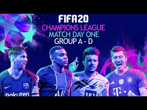 Group Stage Match Day 1 | FIFA 20 UEFA Champions League 20/21