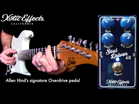 Xotic Soul Driven Overdrive