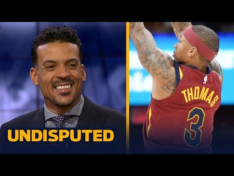 Matt Barnes: Isaiah Thomas still needs to figure out his role on the Cavaliers   UNDISPUTED