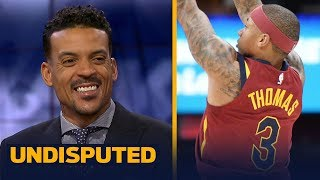 Matt Barnes: Isaiah Thomas still needs to figure out his role on the Cavaliers | UNDISPUTED