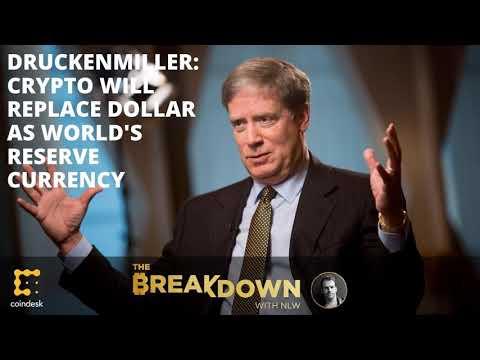 Crypto To Replace Dollar As World's Reserve Currency? Investing Legend Stanley Druckenmiller...