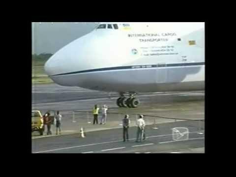 Maior avião que já pousou em São Luís (SBSL/SLZ)